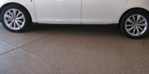 clean, non-skid surface using our garage floor epoxy coatings