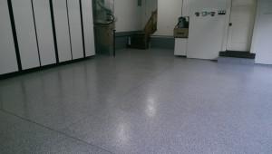 home garage flooring repair & installation of new sealant
