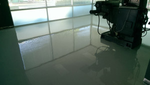 we repaired concrete cracks & sealed with epoxy coating